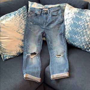 Madewell jeans Sz 25